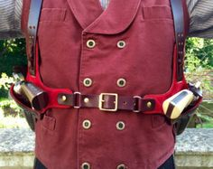 Tombstone Huckleberry Shoulder Holster by LondonJacks on Etsy Cowboy Holsters, Gun Holster, Leather Holster, Leather Harness, Rifles, Cowboy Action Shooting, Edc, Leather Working, Suede Leather