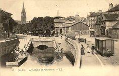Caen , la poissonnerie