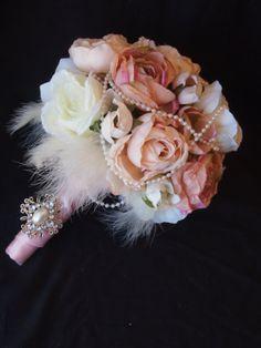 Marie Antoinette Shabby Chic Silk Bouquet. $79.99, via Etsy.