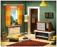 https://flic.kr/p/rDz8wN | LEGO Living Room