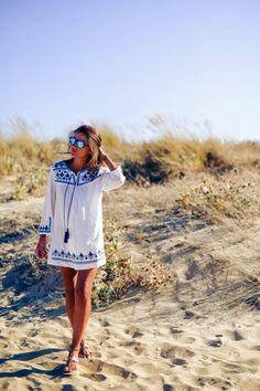 Boho Hippie Tassel Dress - Lovely Pepa
