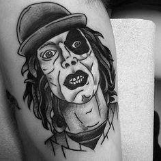 Baseball Furies Tattoo by Gareth Bannister