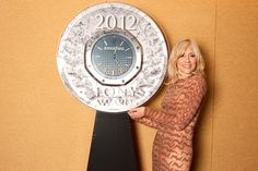 2012 Tony Award nominee Judith Light (Other Desert Cities) signs a commemorative clock designed by Swiss watchmaker Audemars Piguet, which will be auctioned to benefit Broadway Cares/Equity Fights AIDS.  Credit: Kristy Leibowitz