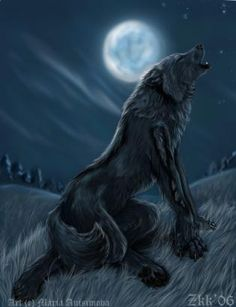 Strikes don't howl at the moon, but I like the anatomy of this pic!