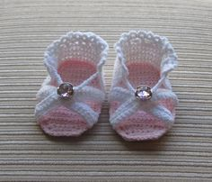 #Crochet Pattern for Baby Girl Sandals TOP 10 #CROCHETING #PATTERNS FOR BABY CLOTHES