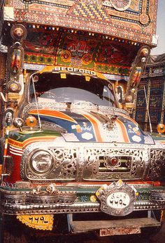 Pakistan-truck