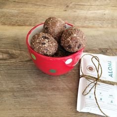 Chocolate-Peppermint Protein Balls