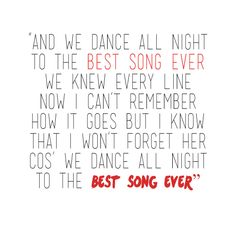 BEST SONG EVER! I haven't even listened to the whole song and its already my favorite!!!