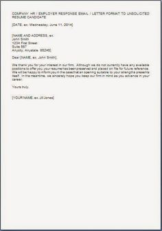 sample cover letter to inquire about job openings
