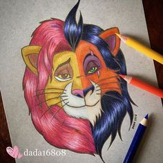 Trendy disney art drawings sketches the lion king ideas Disney Art Drawings, Disney Drawings, Lion King Drawings, King Drawing, Art Drawings Sketches, Disney Artists, Art, Disney Tattoos, Cute Drawings