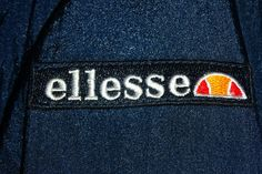 Ellesse lettering/logo.  Ellesse Heritage Range is inspired by passion and vision of the founder Leonardo Servadio.  Styled in Italy