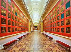 Hermitage, St. Petersburg - Great Journey. Military Gallery of the Palace Museum.