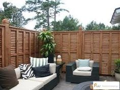 shutter fence - I want to add to my existing fence for privacy