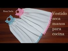 Easy Sewing Projects, Crochet Projects, Crochet Designs, Crochet Patterns, Crochet Towel Topper, Crochet Decoration, Hanging Towels, Crochet Kitchen, Crochet Videos