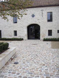 New outdoor patio flooring stones courtyards 20 ideas, Backyard Seating, Small Backyard Patio, Backyard Patio Designs, Diy Patio, Outdoor Seating, Paving Stone Patio, Brick Patios, Concrete Patio, Brick Driveway