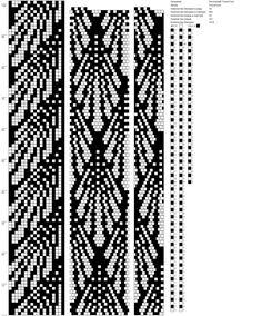 Photos de Рисуем схемы для жгутов из бисера, вышивки и др.