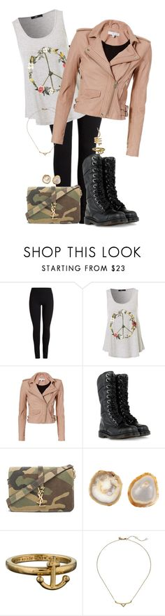 """A Firefly In Illinois."" by brittneygabriellaaa ❤ liked on Polyvore featuring IRO, Dr. Martens, Yves Saint Laurent, Anna New York, Kate Spade, Rebecca Minkoff and Paula Mendoza"