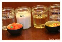 Dissolving Candy Pumpkins Experiment and more science too!