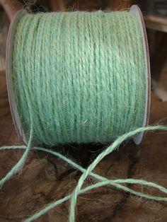Mint Green Jute Twine Cording 100 yds $5.49