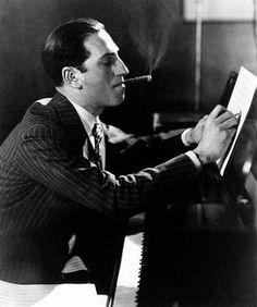 "Edward Steichen: George Gershwin, New York City, Undated ""Life is a lot like jazz… it's best when you improvise. Edward Steichen, Harlem Renaissance, Jazz Age, Motif Music, Foto Face, Great American Songbook, An American In Paris, Rhapsody In Blue, Music Composers"