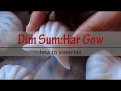 How to Assemble Har Gow 虾饺 Wrap Recipes, Indian Food Recipes, Asian Recipes, Shrimp Dumplings, Chinese Dumplings, Steamed Shrimp, Steamed Buns, Dumpling Filling, Dumpling Recipe