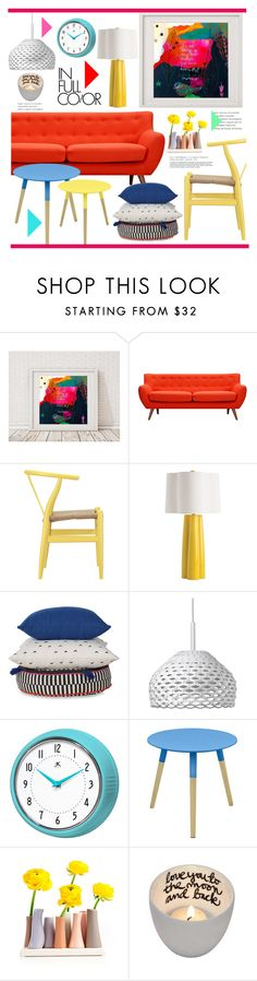 """""""Untitled #2402"""" by liliblue ❤ liked on Polyvore featuring interior, interiors, interior design, home, home decor, interior decorating, Arteriors and Flos"""