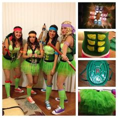 Teenage mutant ninja turtles group costume bigdiyideas this is a adult version but with a few tweaks your child could wear this outfit solutioingenieria