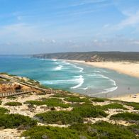 The Hiker's Path to the Beach -  Beach, Carrapateira, Southwest Alentejo and Vicentine Coast Natural Park, Portugal