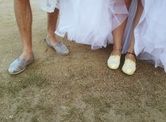 Wedding shoes  #toms #oneforone
