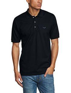 Trigema Herren Poloshirt Piqué-Qualität, Gr. 3X-Large, navy