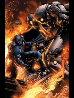 Batman vs The Wrath. Detective Comics 24.