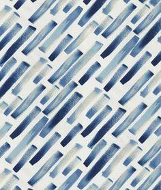 Studio NYC Ridge Lapis Fabric | OnlineFabricStore.net Rooftop Lounge, Drapery Fabric, Fabric Samples, Blue Fabric, Nyc, Studio, Design, Orange, Purple