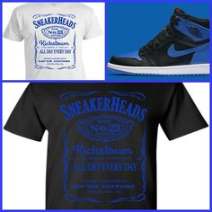 7199eb940be3 Details about EXCLUSIVE TEE T-SHIRT  1 TO MATCH AIR JORDAN 1 OR 31 ROYAL  BLUE OR ANY JORDANS