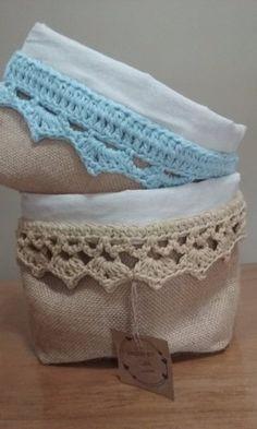 organizadores-paneras :: Hecho-en-casa-crochet Couture Sewing, Lace Shorts, Knit Crochet, Organization, Shabby, Quilts, Knitting, Mini, Fabric