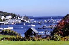 New Harbor, Maine - I've spent the past decade here