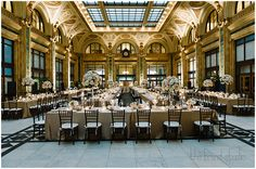 The Pennsylvanian Wedding Event Group Table Layout Kings Tables Dramatic