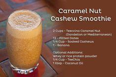 Caramel Nut Cashew Smoothie