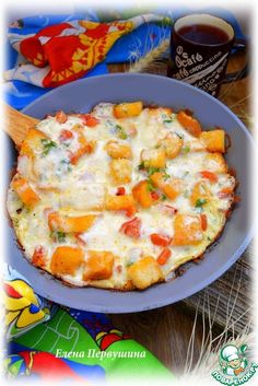 Омлет по-французски - кулинарный рецепт Hawaiian Pizza, Vegetable Pizza, Quiche, Mashed Potatoes, Slow Cooker, Food And Drink, Eggs, Tasty, Cooking