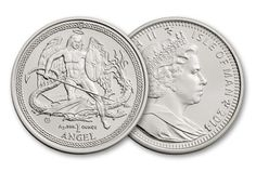 2014 1-oz Silver Angel Brilliant Uncirculated Coin