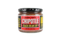 30 Healthy (& Cheap) Buys from Trader Joe's #refinery29  http://www.refinery29.com/2016/10/125150/trader-joes-healthy-foods#slide-8  Chipotle Black Bean DipWhy it's healthy: Made with vegetarian- and vegan-friendly black beans, this dip has fiber, protein, and no cholesterol where other dips have more grease than flavor.How to eat it: Bring this to your next game-day gathering, pair with your chips of choice....