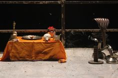 In preparation for the Ganga Aarti, Varanasi, India #india #Ganga Aarti #travel #photo #culture #Kamalan #Varanasi #Benaras #Ganga #Ganges