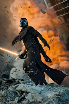 Kylo Ren by mike heath on ArtStation Star Wars Film, Rey Star Wars, Star Wars Art, Sith, Star Wars Store, Knights Of Ren, Star Wars Kylo Ren, Darth Vader, War Image