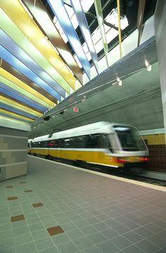 Darting around on DART (Dallas Area Rapid Transit)