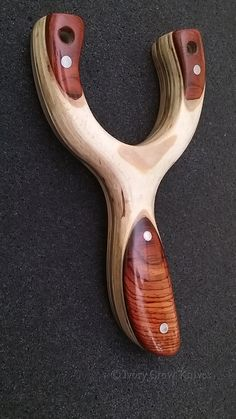 Small Cocobolo Sling Shot by IvoryCrowKnives on Etsy