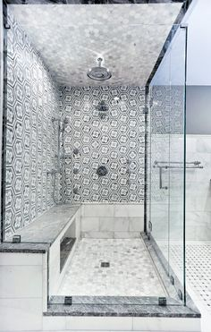 ie to view our Carrara tile range. Carrara Marble Bathroom, Backsplash Arabesque, Arabesque Tile, Shower Floor Tile, Bathroom Floor Tiles, Bathroom Interior Design, Bathroom Ideas, Bathroom Designs, Bathroom Remodeling
