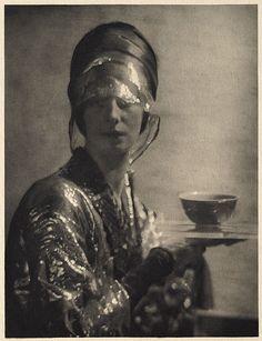 The Cup   De Meyer, Baron Adolf, b.1868-1946  Camera Work XL, 1912