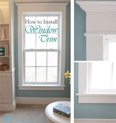 How to install / replace window trim.  I have been looking for this as I need to replace where the dogs chewed on them.