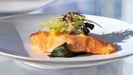 Tasmanian Huon salmon in sake marinade - Tetsuya