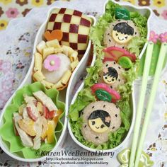 Twitter from @Karen Wee's Bento Diary Strawberry Onigiri Family http://kwbentodiary.blogspot.com/2013/09/bentosept03strawberry-onigiri-family.html … #obentoart #kwbentodiary #strawberry #onigri #lunch