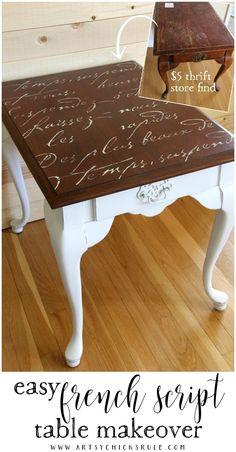 20+ MORE Furniture Makeovers YOU Can Do!! artsychicksrule.com